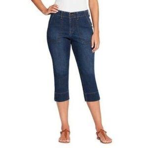 Gloria Vanderbilt Jeans Denim Rhea Comfort Capris